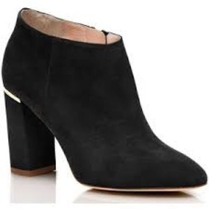 💥NWT❤️Kate spade❤️black suede ankle boots